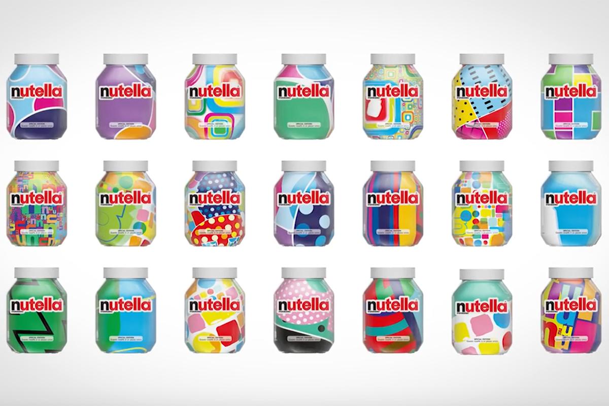 Unique Nutella Labels