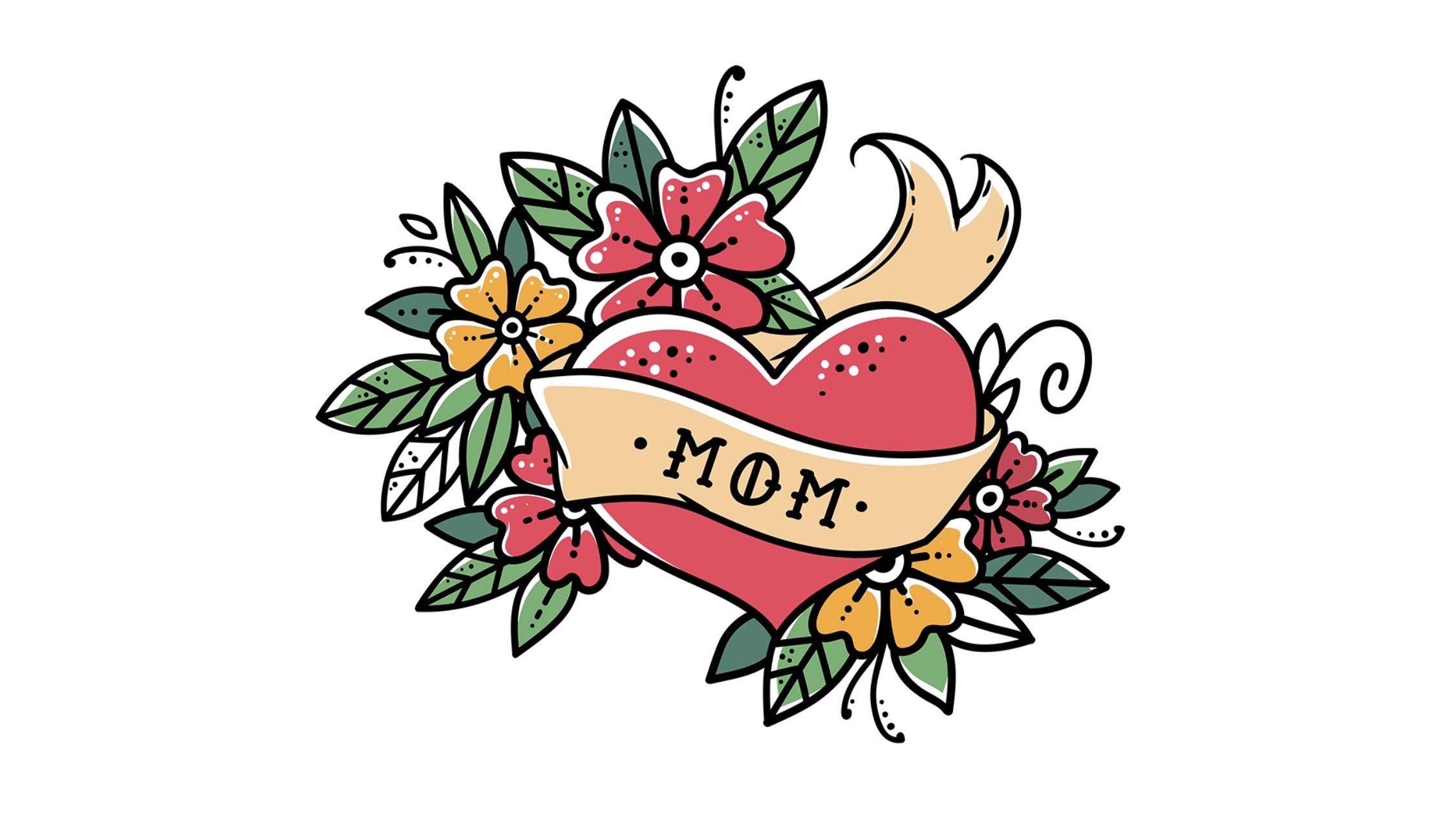 """""""Mom"""" Tattoo"""